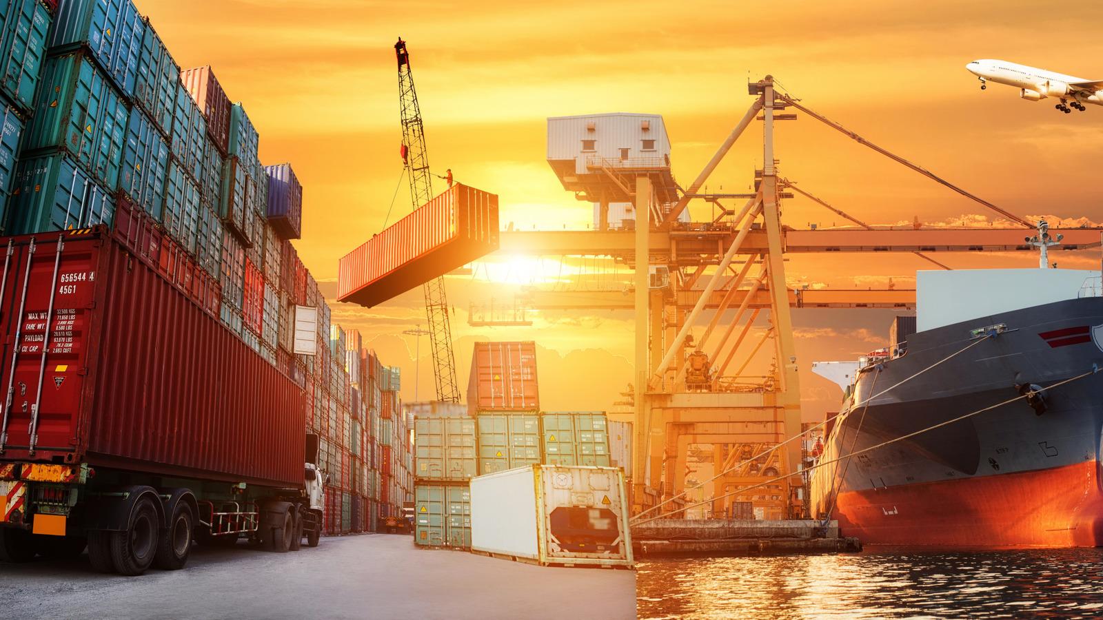 Услуга Морские перевозки
